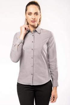 Dámská košile oxford s dlouhým rukávem