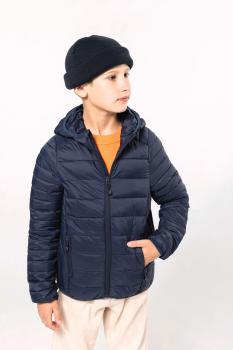 Dìtská zimní bunda s kapucí Down Jacket