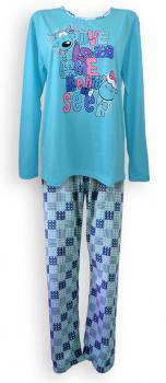 Dámské pyžamo - dlouhý rukáv