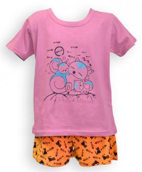 Dìtské pyžamo - krátký rukáv