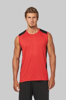 Sportovní trièko bez rukávù