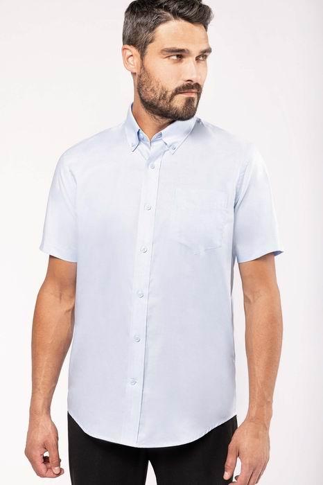 Pánská košile oxford s krátkým rukávem - reklamni-textil.cz 0fd6378bfa