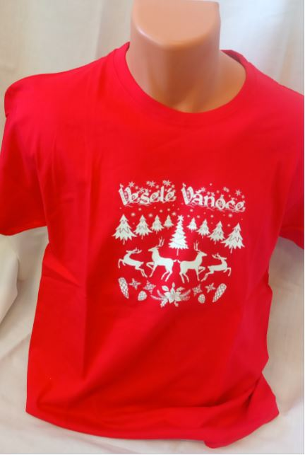 Unisex trièko - Veselé Vánoce - zvìtšit obrázek